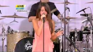 Selena Gomez The Scene Love You Like A Love Song Live On Good Morning America 6 17 2011