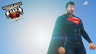GTA 5 PC - Superman Mod ! The Man Of Steel ! (Ultimate Superman Mod)💪