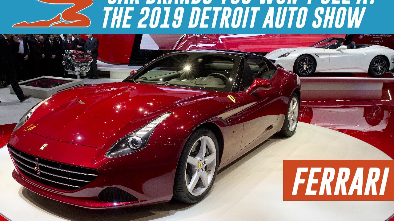 Car Brands You Won T See At The 2019 Detroit Auto Show Youtube