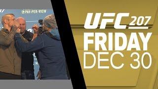 UFC 207: Media Day Faceoffs