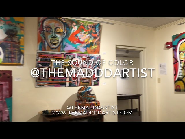 THE SOUND OF COLOR BY @THEMADDDARTIST 2018