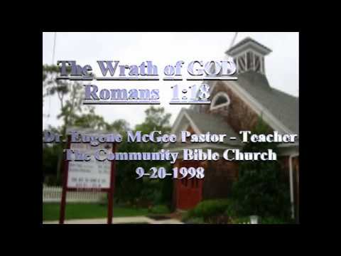 The Wrath of GOD Romans Ch 1 verse 1 - 18