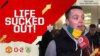 AN ALL-TIME LOW! Man Utd 0-2 Burnley | Group Fan Cam