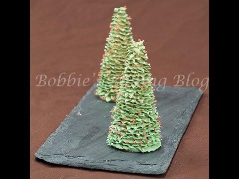Sugar Christmas Trees