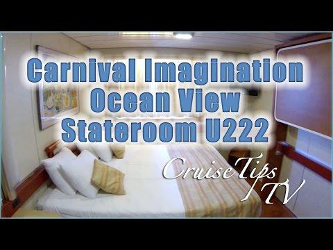 Carnival Imagination Ocean View Stateroom U222
