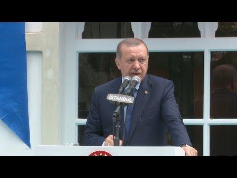 Cumhurbaşkanı Erdoğan, Yıldız Hamidiye Camisini İbadete Açtı