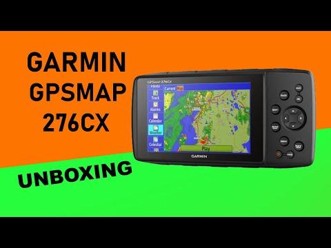 Garmin GPSMAP 276Cx Unboxing HD (010-01607-01)
