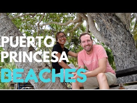 Expat in the Philippines - Puerto Princesa beaches