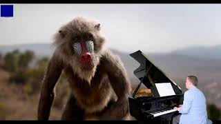 The Lion King Official Teaser Trailer - Left-Handed Grand Piano by Frederic Loso
