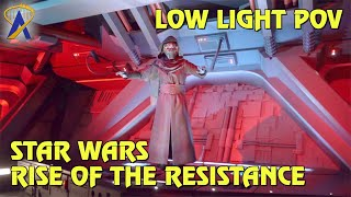 Full Low-Light POV - Star Wars: Rise of the Resistance at Star Wars: Galaxy's Edge