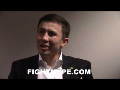"GOLOVKIN GIVES ANDRE WARD MAJOR PROPS FOR ""BEAUTIFUL"" WIN OVER FRIEND KOVALEV; REACTS TO STOPPAGE"