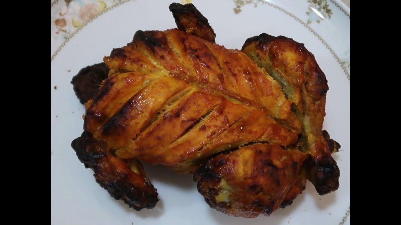Full Grilled Chicken Recipe | Tamil