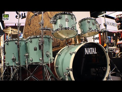 Natal Drums - new Café Racer drum sets