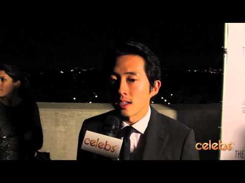 "Steven Yeun of ""The Walking Dead"" Talks Season 3 of the Hit AMC Show"