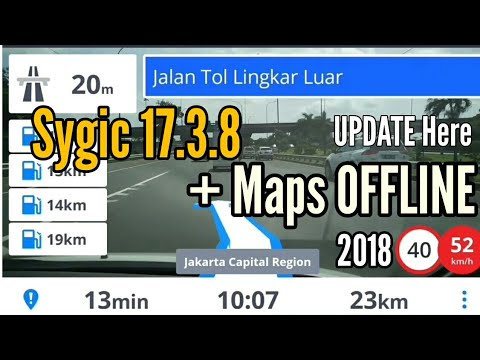 UPDATE Here | Full Sygic 17.3.8 + Maps OFFLINE