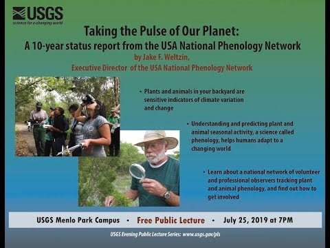PubTalk 07/2019 — Taking The Pulse Of Our Planet