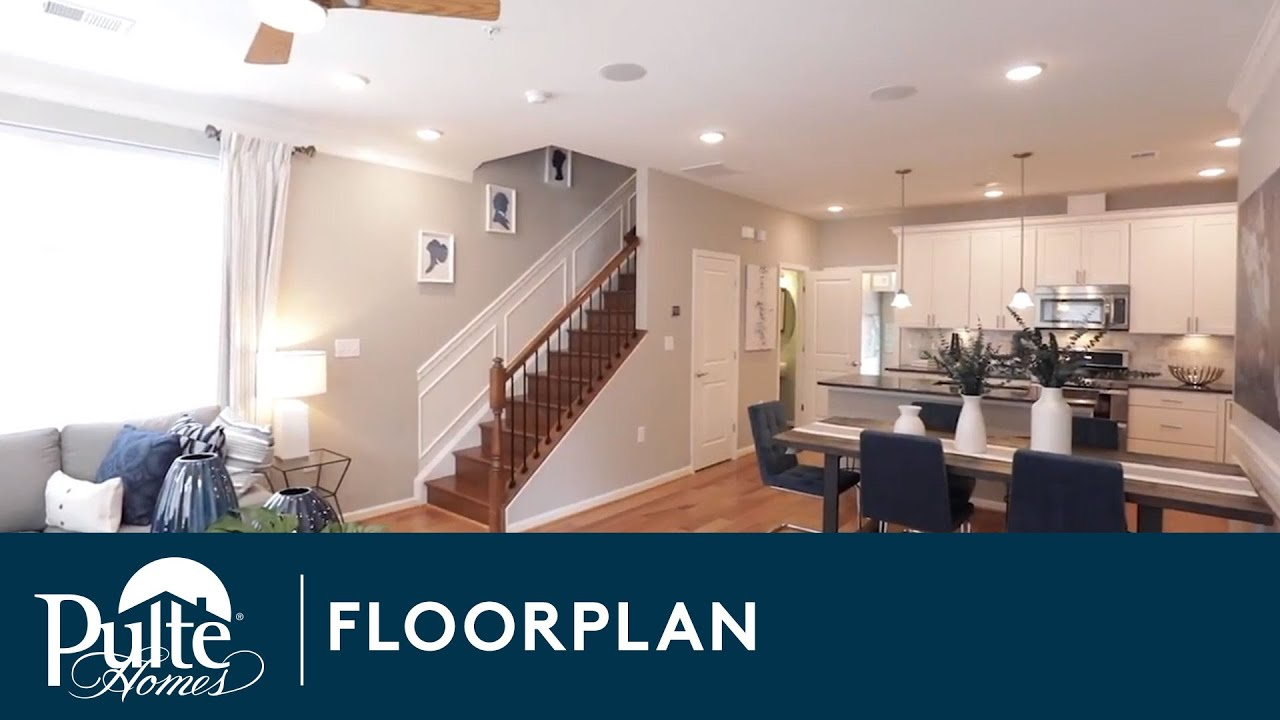 New Homes by Pulte Homes – Lafayette Floorplan - YouTube