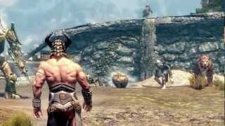 Skyrim Battles - All Creatures in Skyrim Free-for-All