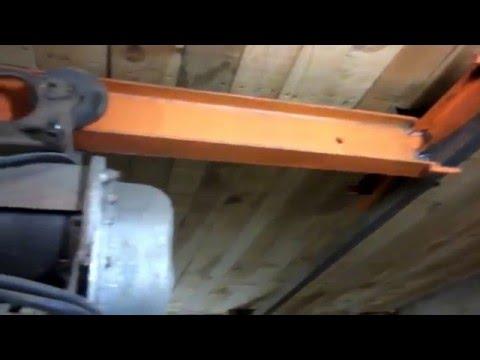 Кран-балка для гаража