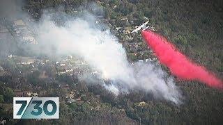NSW bushfires spread to the Sydney suburb of Turramurra   7.30
