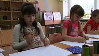 Видеосъёмка урока рисования в детском саду,г.Ижевск.т.8-912-441-09-39