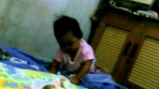ANAK BAYI BERAKSI DI PAGI HARI * MUTIA MAWADDAH AWWALIIYAH * FUNNY BABY SMART