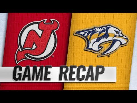 Johansen, Predators top Devils in shootout