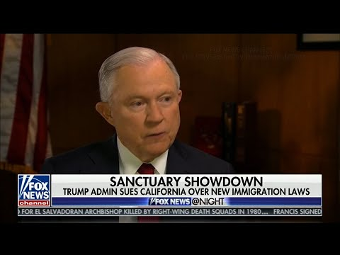 Sessions Says California Cannot Block ICE Agents
