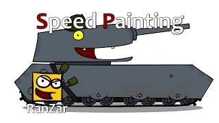 Speed Paint Мышонок. RanZar. Рандомные Зарисовки.