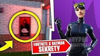 SEKRETY W FORTNITE X BATMAN O KTÓRYCH NIE WIESZ EVENT !!!