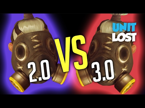 Overwatch - Roadhog 2.0 Vs Roadhog 3.0 (What's The Difference?)