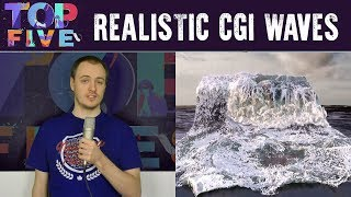 Top 5 Realistic CGI Waves - Computer Generated Imagery