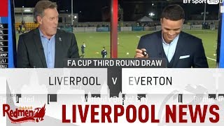 Liverpool Draw Everton in the FA Cup! | #LFC Daily News LIVE