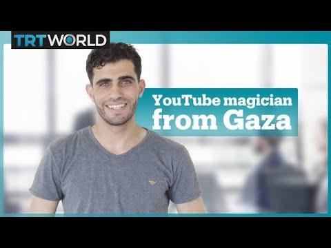 Gazan YouTuber entertains Palestinians using limited resources