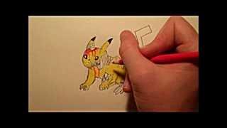 How to Draw Zombie Pikachu