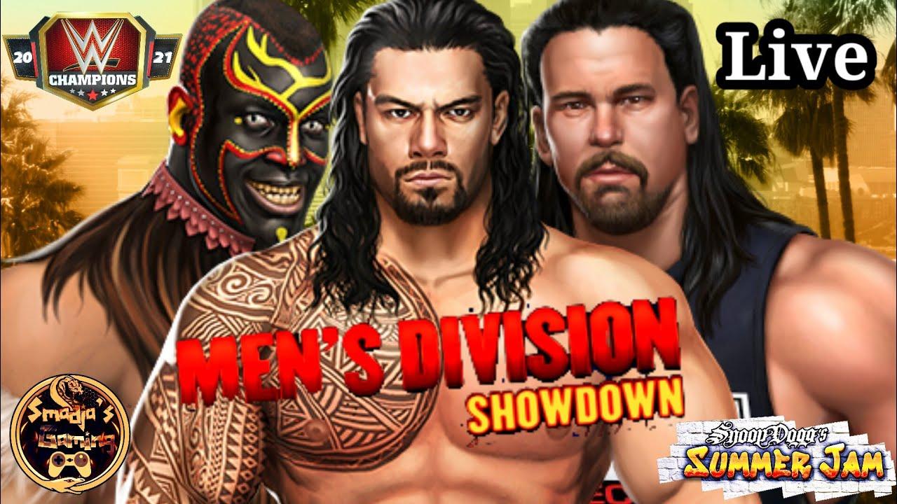 Showdown Action Snoop Dogg's Summer Jam Live Stream July 29th 2021 / WWE Champions
