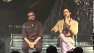 Sushant Singh Rajout and Dibakar Banerjee @ trailer launch of Detective Byomkesh Bakshy!!!