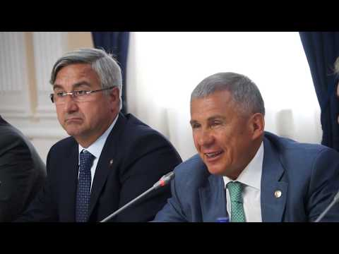 Официальная встреча Президента Республики Татарстан Рустама Минниханова с Донскими татарами.