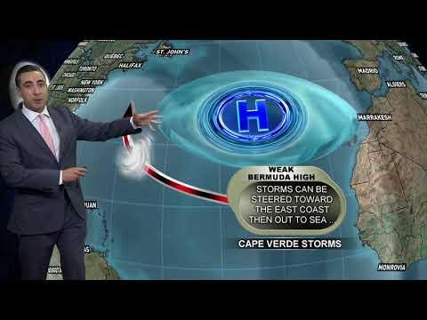Tropical Storm Irma Forecast: 2 p.m. 8/30/2017