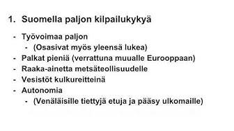 Suomen teollistuminen 1800 luku