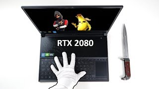 RTX 2080 Gaming Laptop Unboxing (Ultra-Slim) ASUS ROG Zephyrus +  Fortnite, Apex Legends, MW2