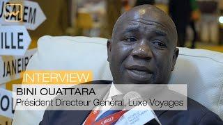 Interview de Bini Ouattara, Président Directeur Général de Luxe Voyages