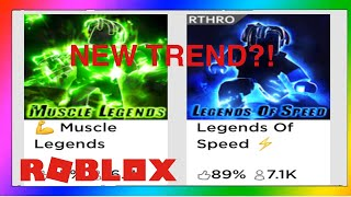 New ROBLOX Trend?! (It's awful) (Muscle legends)