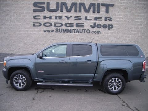 Sold 7t517a 2015 Used Gmc Canyon Crew Short Cap Fond Du Lac 27 999