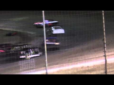 I Stock Main at Lubbock Speedway 4-19-13
