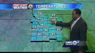 Cold, windy conditions to arrive for Tuesday