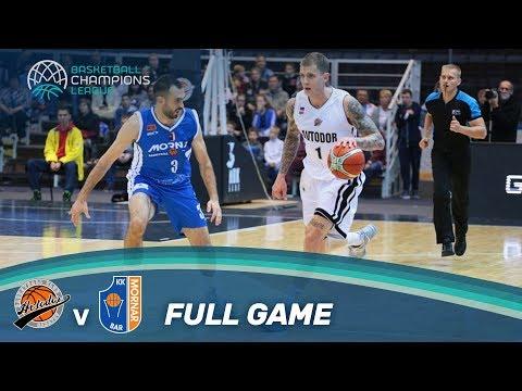 LIVE 🔴 - Avtodor Saratov (RUS) v Mornar Bar (MNE) - Basketball Champions League 17-18