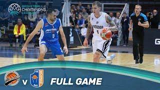Avtodor Saratov (RUS) v Mornar Bar (MNE) - Full Game - Basketball Champions League 17-18