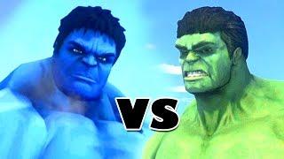 BLUE HULK VS HULK - GTA IV