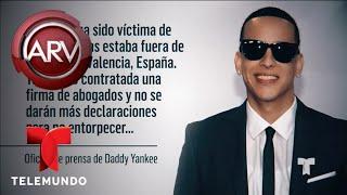 Daddy Yankee Fue Víctima De Un Robo Millonario  Al Rojo Vivo  Telemundo